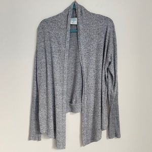 FreeLoader Gray cardigan size small